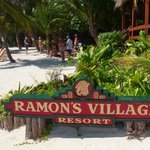 Beach view of Ramons