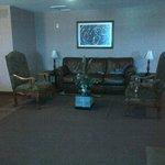 Lounge area in floor