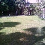 Garden from parking