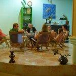 Lobbyn på Palm Villa