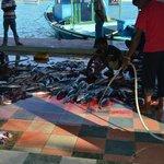 Fiske marknaden på Velidhoo.