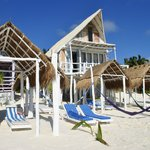 le cabanas sulla spiaggia
