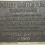 Tybee Island Inn was part of the hospital during Spanish American War, 1898-1902, Fort Screven