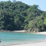 Manuel Antonio beach inside the national park
