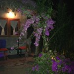 Our cottage in the evening
