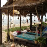 Nice place for massage at the beach