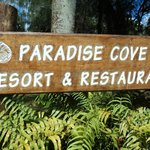Entrance to Paradise Cove