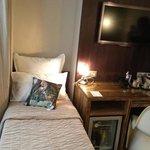 lit simple chambre triple