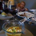 Divine cod and lemon soup