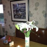 Local Photography of Arran in Dinning Area