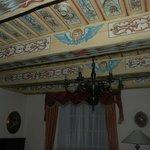 Camera: particolare della soffitta