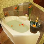 jacuzzi tubs in the rooms
