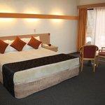 La habitación superior amplia y confortable