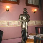 Knight inside of Beefeater's