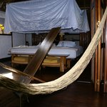Our bed in Inkaterra