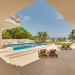 View of Mansion Pool at Grand Caribe Belize Resort & Condominiums