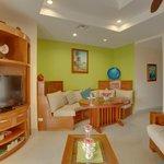 Unit D8 - 1 Bedroom Suite - Living Room