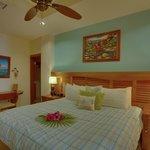 Unit D8 - 1 Bedroom Suite - Bedroom