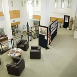 A beautiful space to view exhibitions or research your family history