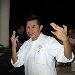 Jose, the best evening bartender at the Tiki Bar