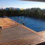 skøn pool på taget