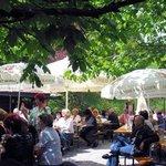 Königlich Bayerische Enzianhütte in Oberstaufen / Restaurant / Biergarten / Ja