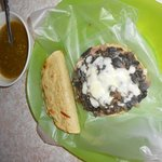 Sope de Huitlacoche, super recomendable