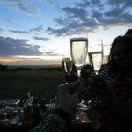 Surprise picnic atop Mara hill