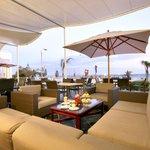 The Verandah Restaurant boasting beautiful views of Shark Rock Pier