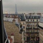 Tetti e Torre Eiffel