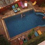 piscine vue du 4ème