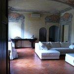 sala per gli ospiti del palazzo