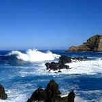 Raging sea at Porto Moniz
