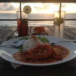 amazing food and views from single fin