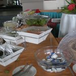 buffet de l'hotel
