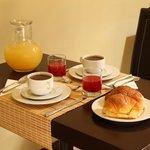 Alla mattina niente di meglio di un'ottima colazione per poter affrontare una giornata di visita