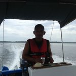 Heading back to Bocas Town with Sabastian
