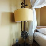 Table Lamp in the Music Room