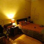 Nuestra habitación, bonitos detalles, acogedora.