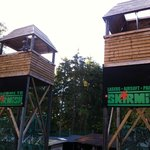 The Towers at Skirmish Paintball Exeter
