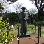 St Damien's Statue at one of his churchs