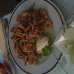 Fried calamares - delicious