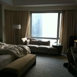 Slightly bigger in executive floor room