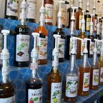 Monin Syrup selection for your coffee drinks