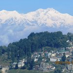 Kanchenjunga Mountain as seen from my Canon...