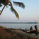 Ashtamudi lake in front of your house