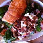 salmon salad. yummm