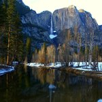 Yosemite (behind the Ahwahnee)