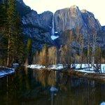 Yosemite (behind the Ahwahnee)