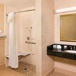 Accessible Guest Suites bathroom